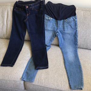 Maternity jeans - 2 pair